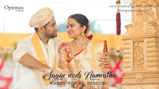 Sagar Weds Namratha || Mysore Kannada Wedding Photography ||  +91 9495099900