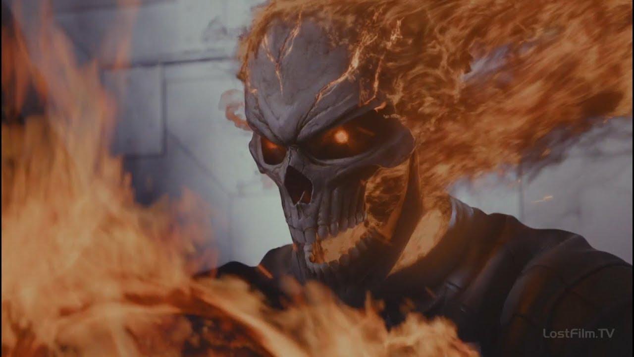 Агенты Щ.И.Т.а и Призрачный Гонщик против Илая Мороу | Агенты Щ.И.Т. (4 сезон 8 серия)