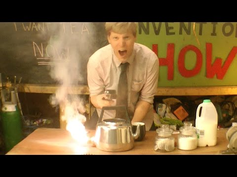 Thermite Kettle - Furze's Invention Show