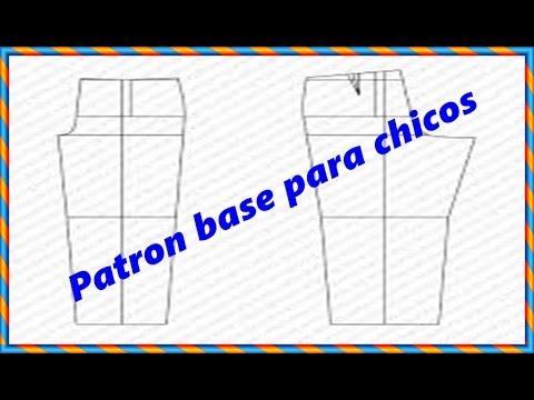 Como Hacer El Trazo Base De Pantalon Para Chicos Peticion