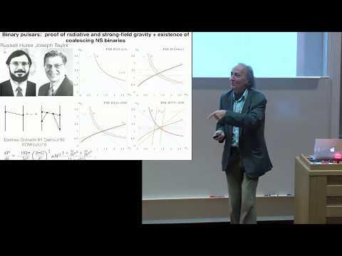 Modern developments in General Relativity: Thibault Damour AND Daniel Kennefick