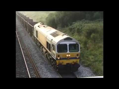 Rail Freight in Wales. Sept.1997. Briton Ferry and Stormy Bank with 09/ 37/47/56/59s