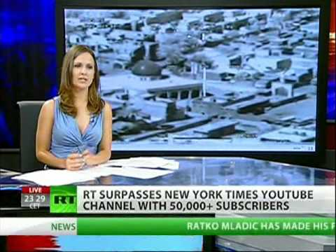 RT America YouTube channel surpasses The New York Times