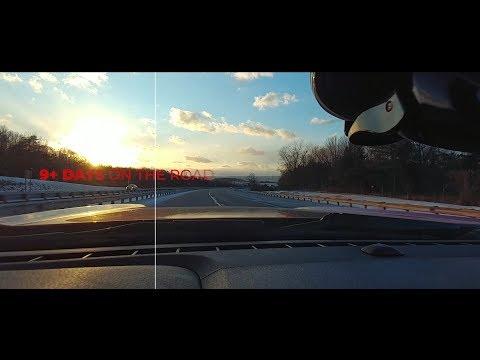 A Man, A Mustang, A V20 go on a 9+ Day 16-State 6,500 mi Cross-Country Road Trip - PART 1