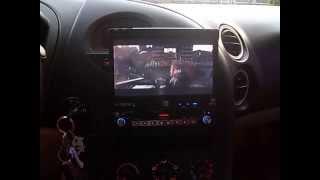 Dual Flip Out Touchscreen Deck
