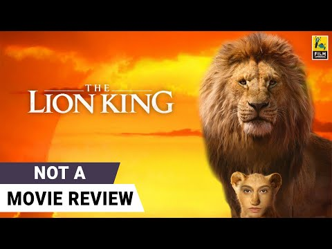 The Lion King   Not A Movie Review by Sucharita Tyagi   Film Companion
