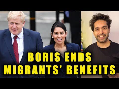 Boris Ends Migrants' Benefits