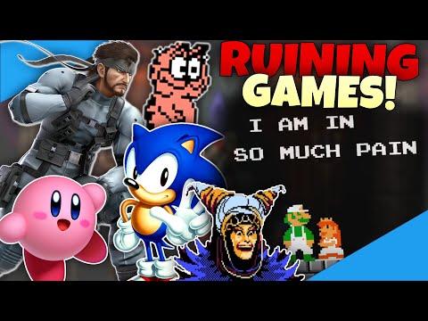 RUINING VIDEO GAMES! - Diamondbolt