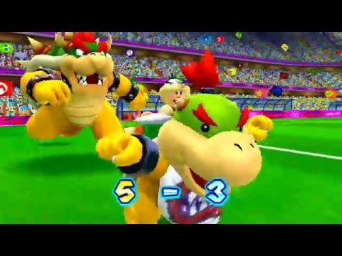 ABM: Mario vs Bowser *FootBall* M & S London 2012 Olympic Games!! HD