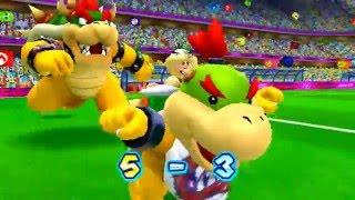 ABM: Mario vs Bowser *FootBall* M & S London 2012 Olympic Games!! HD