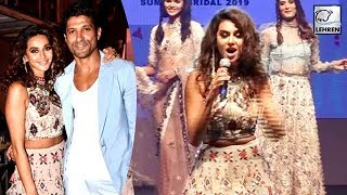 Farhan Akhtar's GF Shibani Dandekar's LIVE Performance On Ramp
