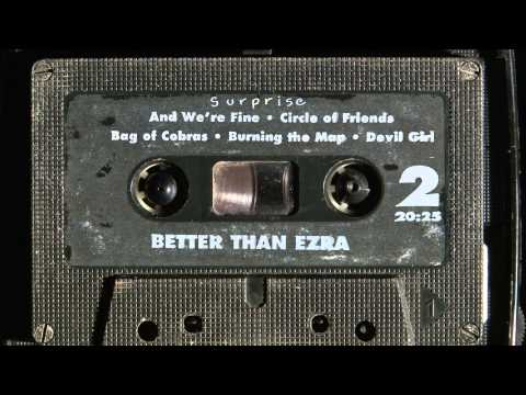 Better Than Ezra - Burning The Map (Official Lyric Video)