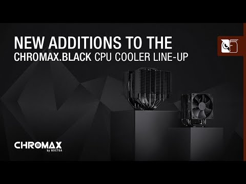 New additions to the chromax.black CPU cooler line-up