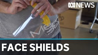 Engineers are 3-D printing face shields to boost supplies of PPE   ABC News