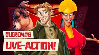 LIVE-ACTIONS QUE A DISNEY PRECISA FAZER - Vale Um Play