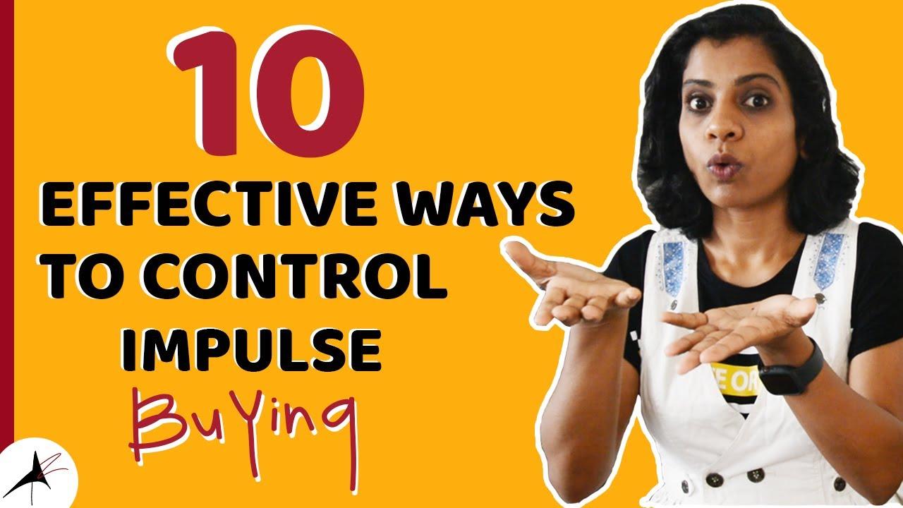 10 Effective ways To control Impulse Buying | Sustainability