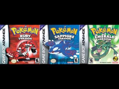 Pokemon Ruby / Sapphire / Emerald GBA  Rival Battle