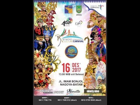 SEMARAKNYA bp batam Int. culture and carnaval (cover: surat cinta untuk starla - VIRGOUN)