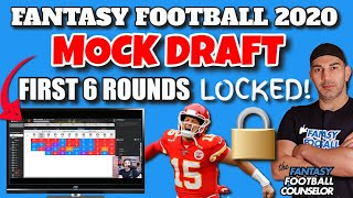 Fantasy Football Mock draft 2020 - Solid Draft Strategy