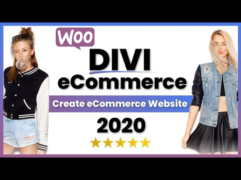 How To Make An eCommerce Website With Wordpress 2020 | 💰Divi Theme eCommerce Tutorial💰 thumbnail