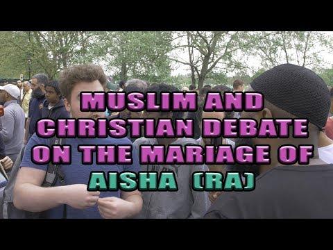 Hyde Park Dawah [Muslim and Christian debate on the marriage of Aisha (ra)