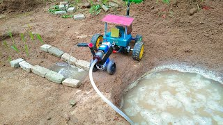 Mini tractor machine motor science exhibition project | santroyce