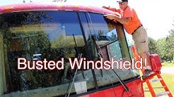 RV Windshield Replacement