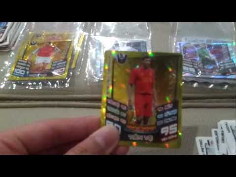 Opening mini packs Match Attax Poca 12 13 in VN