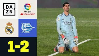 Real patzt! Joselu bestraft Courtois-Blackout: Real Madrid - Alaves 1:2 | LaLiga | DAZN Highlights