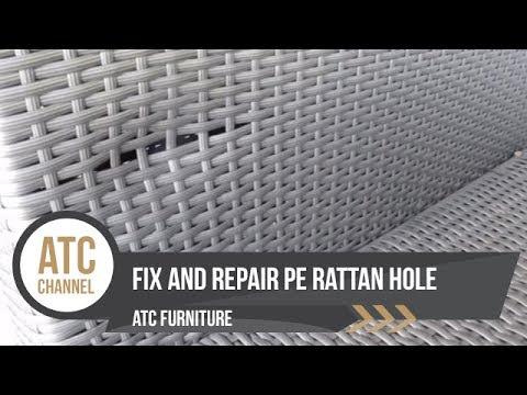 How To Repair Rattan Garden Furniture | White Stores | Doovi