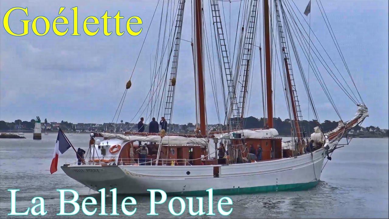 Replique Goelette La Belle Poule La Grace 2 Mats Brick Bretagne France Youtube