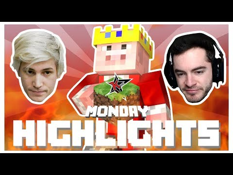 Youtubers React To Technoblade In Minecraft Monday Week 8