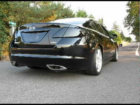 2009 3.7l mazda 6 custom stainless exhaust system, start, rev and