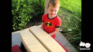 American Plastic Toys Kid Sized Picnic Table Review