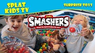 Smashers by Zuru Toy Series 1 Surprise Ball Pit Hunt
