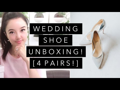 unboxing-4-pairs-of-wedding-shoes-♥-jimmy-choo,-christian-louboutin,-&-chanel