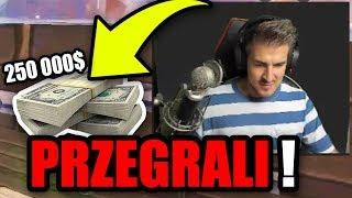 SMUTNY IZAK I LEH PRZEGRALI TURNIEJ O 250 000$ !!!