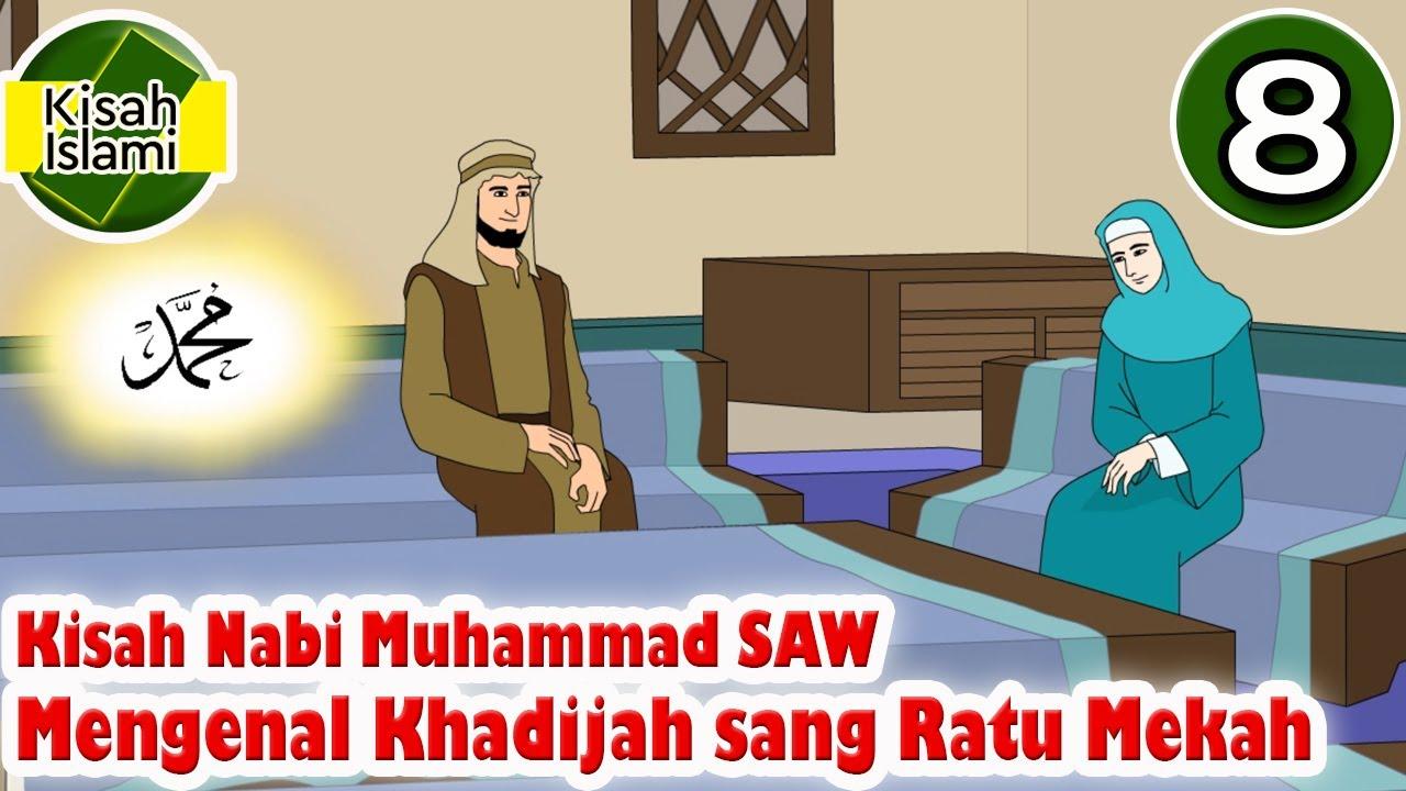 Nabi Muhammad SAW Part 8 - Mengenal Khadijah sang Ratu Mekah - Kisah Islami Channel