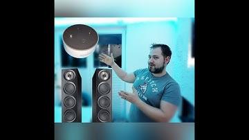 Wie verbinde ich den Alexa Echo Dot mit herkömmlichen Lautsprechern und einer Stereo Anlage ?!!