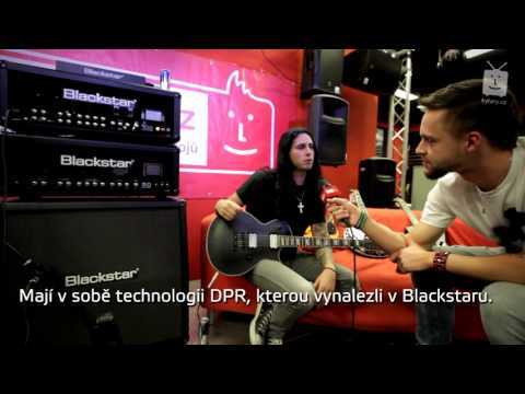 Gus G - kytary.cz interview (EN with Czech subtitles)