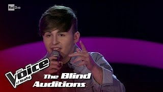 """Daniele Gentile """"You are my destiny"""" - Blind Auditions #3 - The Voice of Italy 2018"""