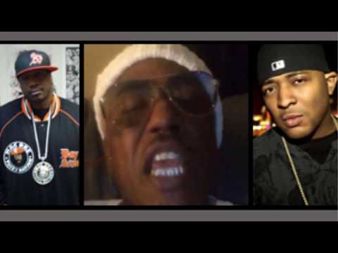 40 GLOCC On MESSY MARV & J DIGGS Beefing After MESS Pulled Up