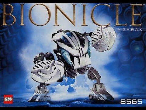 LEGO Bionicle 8565 - YouTube