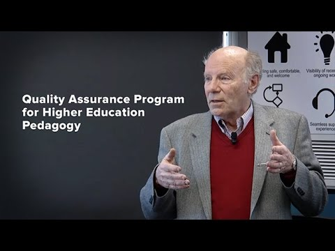 Quality Assurance Program for Higher Education Pedagogy