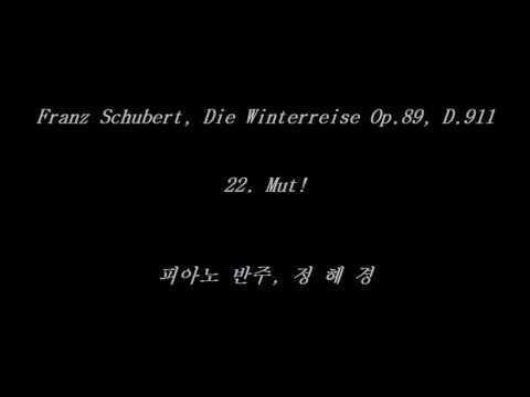 22. Mut! - Winterreise Op.89, D.911 (Schubert, Franz) - Accompaniment