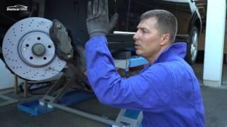 Mercedes Benz W221 S320 /// Замена тормозов