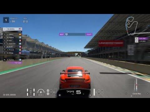 Gran Turismo®SPORT Gameplay Porsche 911 GT3 1st Brazil Day 2K 1080P PS4 Pro