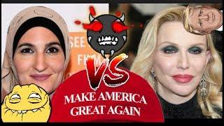Courtney Love vs Linda Sarsour