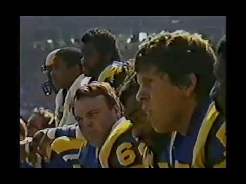 San Francisco 49ers vs Los Angeles Rams 10/23/83 Week 8