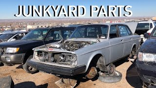 Fixed the $240 Volvo 240 using junkyard parts